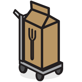 Organic Processing and Warehousing Icon